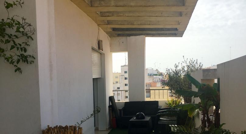 Appartement dans résidence récente, Marshan, terrasse.