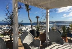 Tanger, en première ligne sur le détroit, idéal maison d'hôtes, vue Espagne et port.