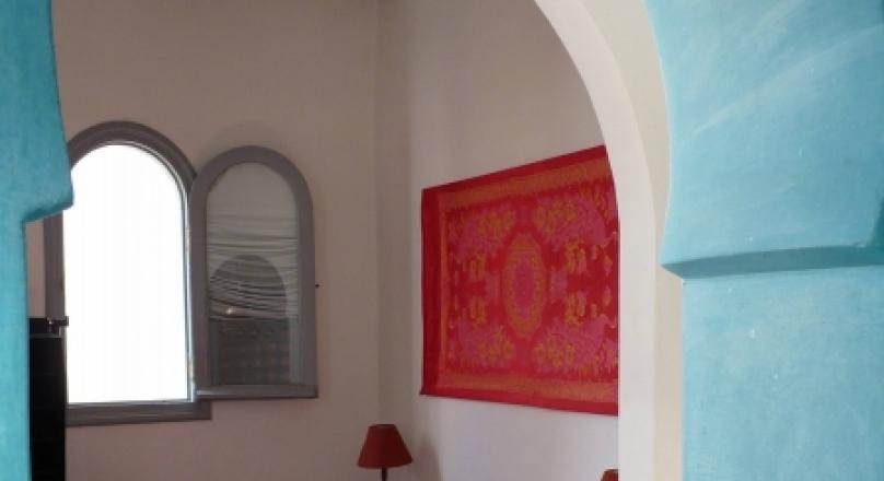 Location saisonnière.Charmant petit appartement au coeur de la médina , location saisonnière