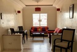 Tanger, appartement de qualité, idéal pied à terre, très bon quartier, calme, 3 chambres. parking en sous sol .