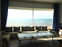 Moulay Bousselham, sur terrain de 390 m2 villa plus dépendances .