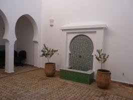 Tanger, à louer, Riad, très belle réalisation, belles préstations